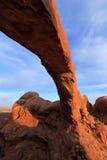 Arco del norte de la ventana, arcos parque nacional, Utah, los E.E.U.U. Foto de archivo