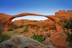 Arco del paisaje Fotografía de archivo