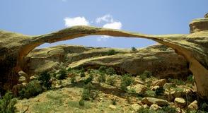 Arco del paisaje Imagen de archivo libre de regalías