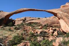 Arco del paisaje Fotografía de archivo libre de regalías