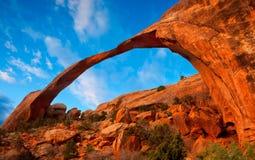 Arco del paisaje Fotos de archivo libres de regalías