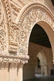 Arco del patio de la Universidad de Stanford foto de archivo