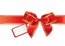 Arco del regalo Immagini Stock