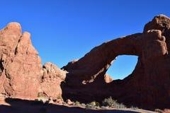 Arco del sud della finestra Fotografia Stock Libera da Diritti