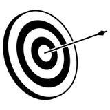 Arco del tiro al arco y vector de la flecha libre illustration