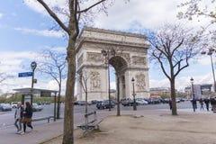 Arco del trionfo Fotografia Stock