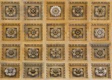 Arco del trionfo, dettagli del soffitto Immagine Stock Libera da Diritti