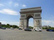 Arco del Triunfo de l'Ãtoile Imágenes de archivo libres de regalías