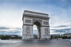 Arco del Triunfo, París royalty free stock photos