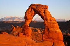 Arco delicado Fotografia de Stock
