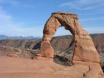 Arco delicado Imagenes de archivo