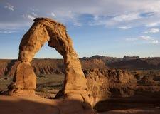 Arco delicado Fotos de archivo libres de regalías