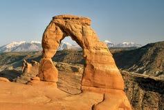 Arco delicado Fotografía de archivo libre de regalías
