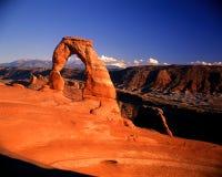 Arco delicado Imagens de Stock Royalty Free