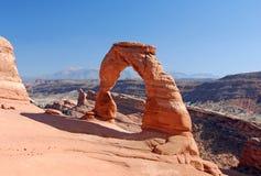 Arco delicado Imagen de archivo libre de regalías