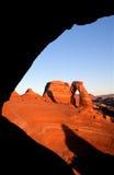 Arco delicado Fotografia de Stock Royalty Free