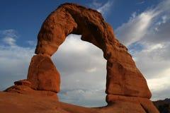 Arco delicado Imagem de Stock