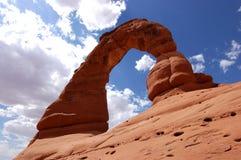 Arco delicado Foto de archivo libre de regalías