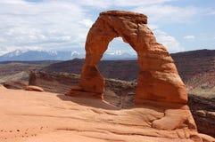 Arco delicado Fotografía de archivo