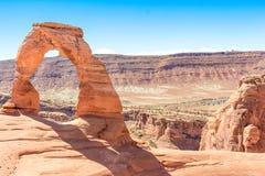 Arco delicado los E.E.U.U. América de los arcos Fotografía de archivo