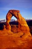 Arco delicado, parque UT de los arcos Fotografía de archivo libre de regalías