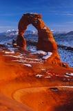 Arco delicado sob Mellienium Fotos de Stock Royalty Free