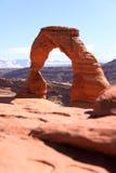 Arco delicato al parco nazionale di arché Fotografie Stock
