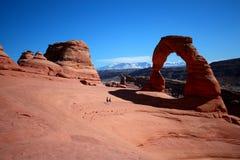 Arco delicato, Utah Immagini Stock Libere da Diritti