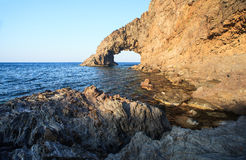 Arco dell'Elefante, Pantelleria Royalty Free Stock Photography