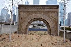 Arco dell'entrata Fotografie Stock