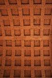 Arco dell'impiallacciatura del mattone Fotografia Stock