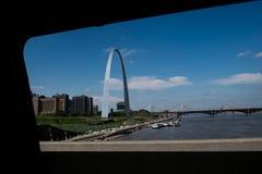 Arco dell'ingresso fotografie stock libere da diritti