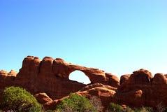 Arco dell'orizzonte nella sosta nazionale degli archi Fotografia Stock