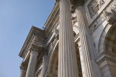 Arco della步幅看法  库存照片
