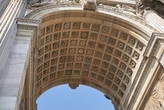 Arco della步幅看法  免版税库存照片