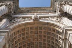 Arco della步幅看法  免版税图库摄影
