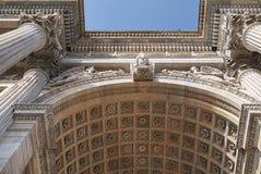 Arco della步幅看法  免版税库存图片