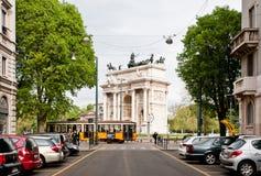 Arco della步幅 免版税库存图片