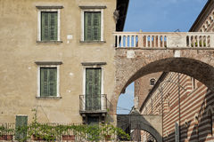 Arco della肋前缘,维罗纳,意大利 免版税库存照片