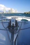 Arco della barca fotografia stock libera da diritti