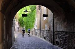 Arco della Costa, Verona, Italy Royalty Free Stock Images