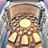 Arco della cupola Fotografia Stock