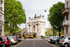 Arco della Pace Royalty Free Stock Image