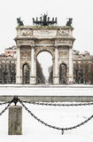 Arco della Pace Royalty Free Stock Photos
