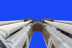 Arco della Pace `Arch of Peace`. Milan, Italy. royalty free stock photo
