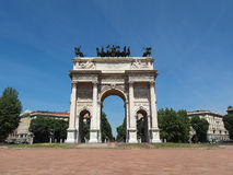 Arco della Pace, Milan Stock Photos