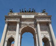 Arco della Pace, Milan Royalty Free Stock Photography