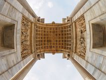 Arco Della Pace in Milan. Italy Stock Photo