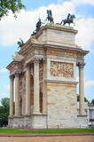 Arco della Pace, Milan Royalty Free Stock Images