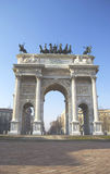 Arco della Pace - Milano Royalty Free Stock Images